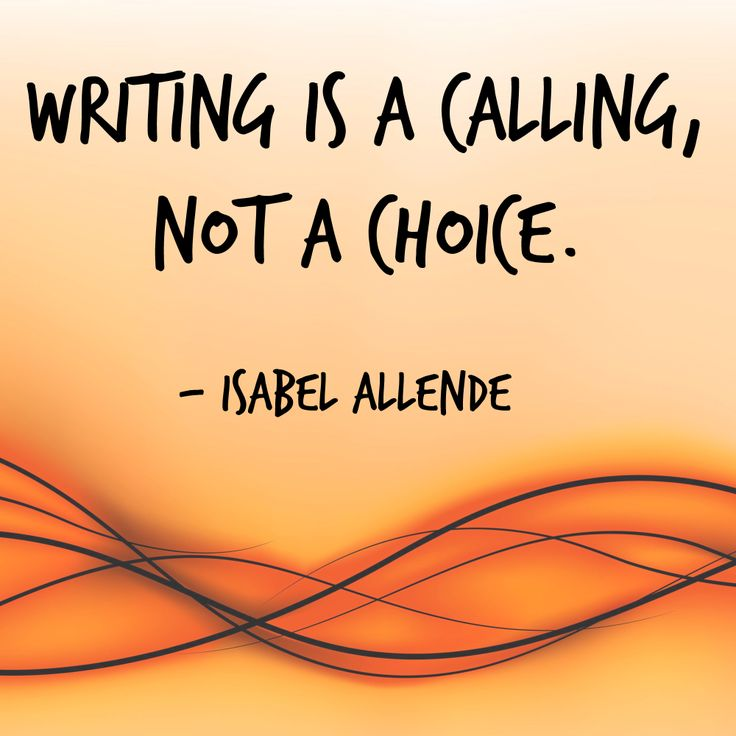 Writing-is-a-calling-not-a-choice